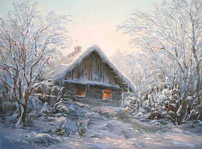 М иваненко зима в тиши деревьев